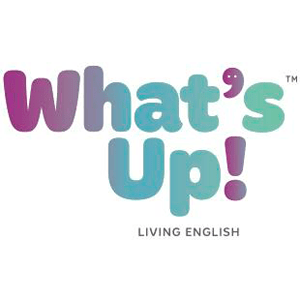 What's Up! Living English logo